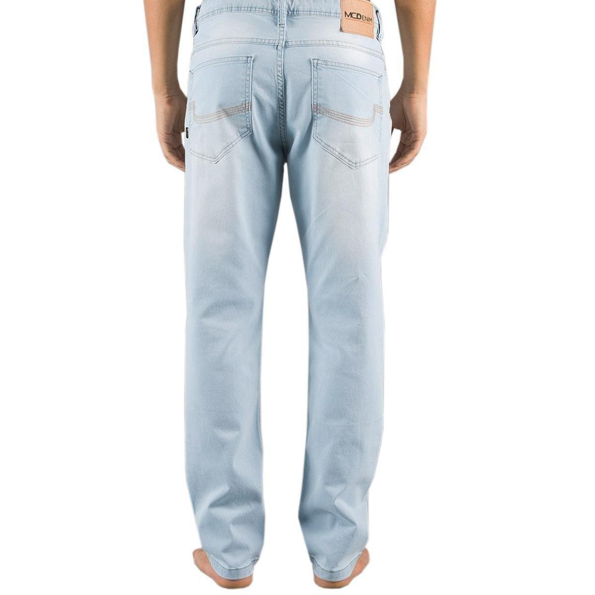 Calça MCD Jeans Sninny Acid Core Masculina - Azul