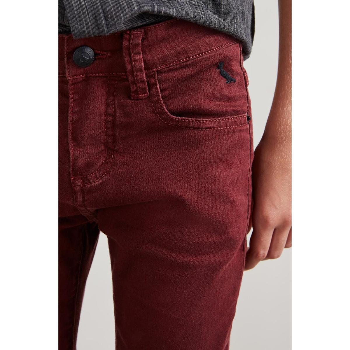Calça Mini PF Skinny Color Ver19 Reserva Infantil Masculino - Bordô