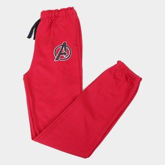 Calça Moletom Infantil Marvel Avengers Masculina