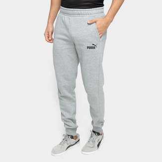 Calça Moletom Puma Essentials Slim Fleece Masculina