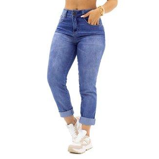 Calça MOM Jeans Detalhe no Botão Biotipo