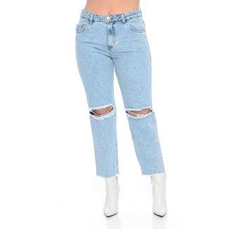 Calça Mom Jeans Emporio Alex