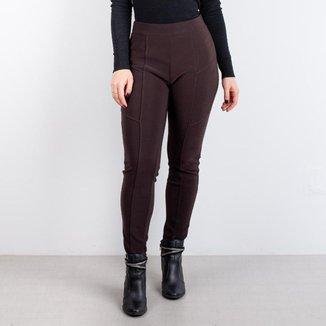 Calça montaria feminina de tecido com elastano 80303
