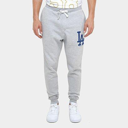 Calça New Era MLB Rib Team 62 Los Angeles Dodgers - Masculino