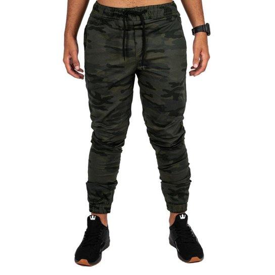 Calça Overking Jogger Masculina - Camuflado