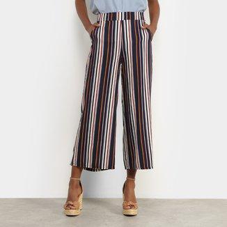 Calça Pantalona Facinelli Listrada Feminina