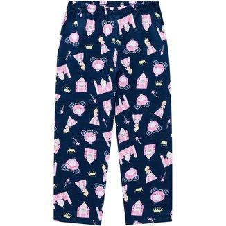 Calça Pijama Infantil Feminina Kyly Meia Malha