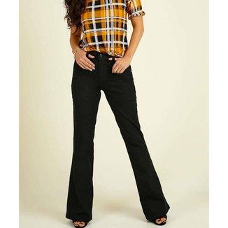 Calça Razon Jeans Flare Cintura Média Feminina
