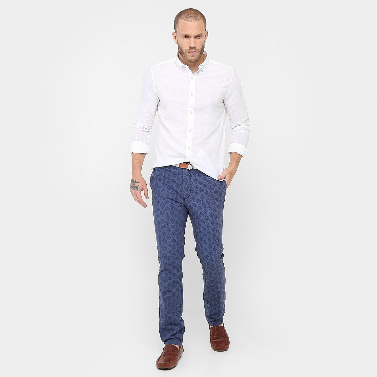 Calça Reserva Casual Arma Secreta Omega - Jeans