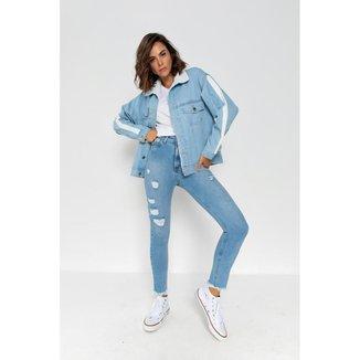 Calça Romanee Jeans Mom  - 153015
