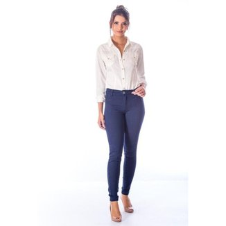 Calça Sisal Jeans Cigarrete Skinny Comfort Feminina