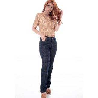 Calça Sisal Jeans Reta Basic Feminina