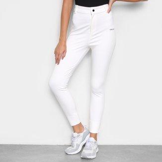 Calça Skinny Colcci Montaria Cintura Alta Feminina
