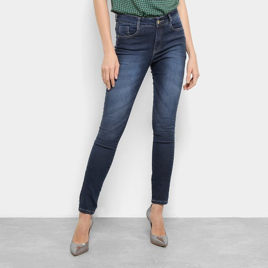 Calça Skinny Jeans Razon Feminino - Azul