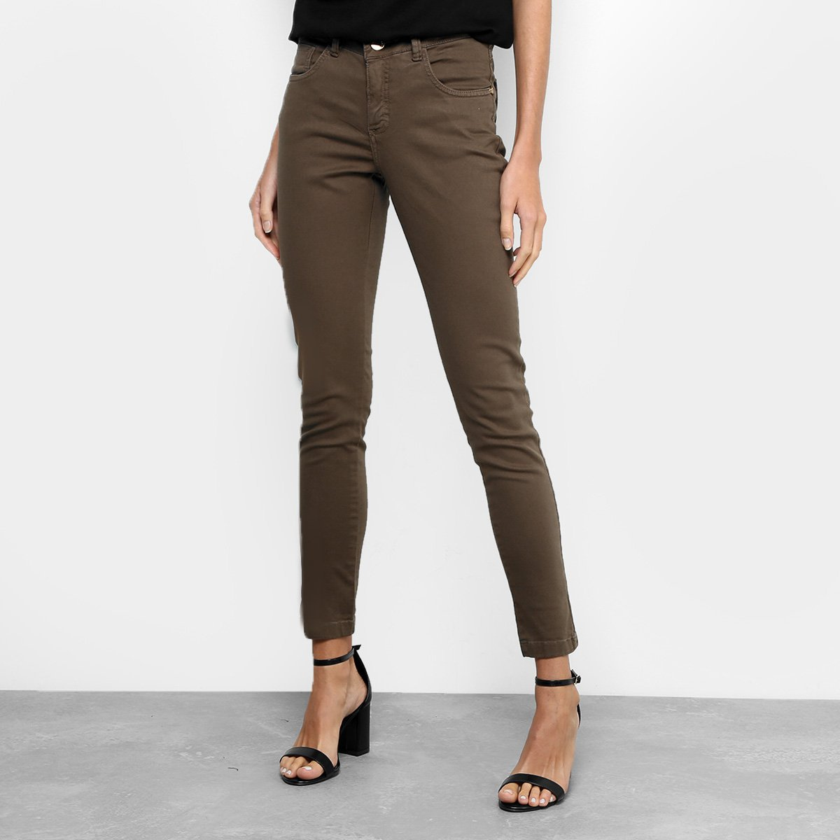 b321991d18 Calça Skinny Uber Jeans Sarja Feminina - Compre Agora