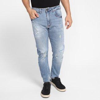 Calças Jeans Colcci Destroyed Masculina