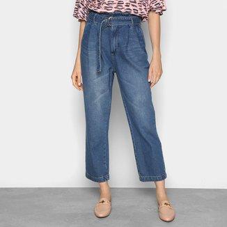 Calças Jeans Mom Colcci Loose Eco Soul Feminina