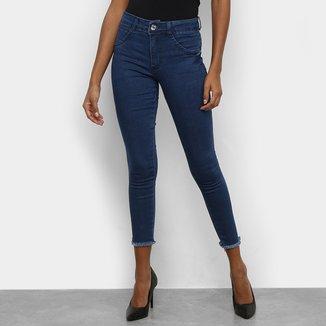 Calças Jeans Skinny Biotipo Melissa Feminina