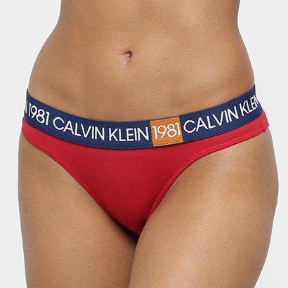 Calcinha Calvin Klein 1981 Tanga