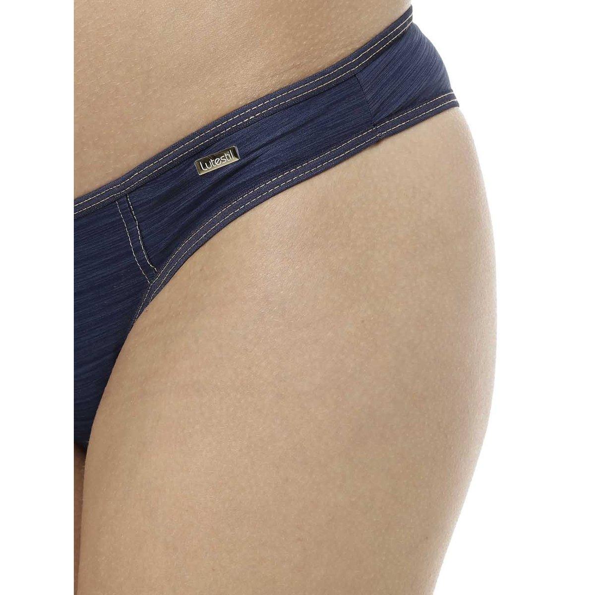 cff93037c Calcinha Feminina Azul marinho - Compre Agora