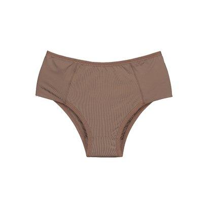 Calcinha Plus Size Com Proteção Permanente E Frente Dupla-Feminino