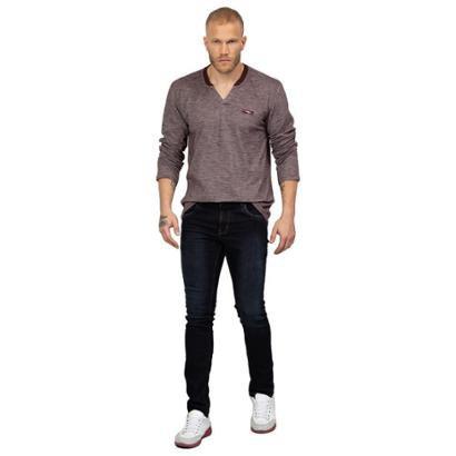 Calvin Skinny Jeans Tng Masculina - Zattini BR