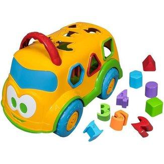 Caminhão de Brinquedo Baby Land Dino Escolar