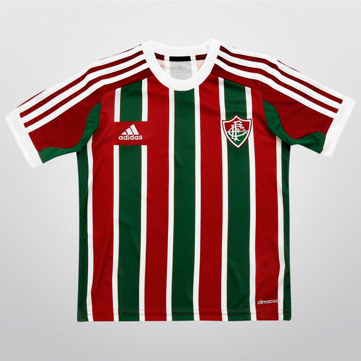 Camisa Adidas Fluminense I 2015 s nº Juvenil - Compre Agora  5075d798d00b3