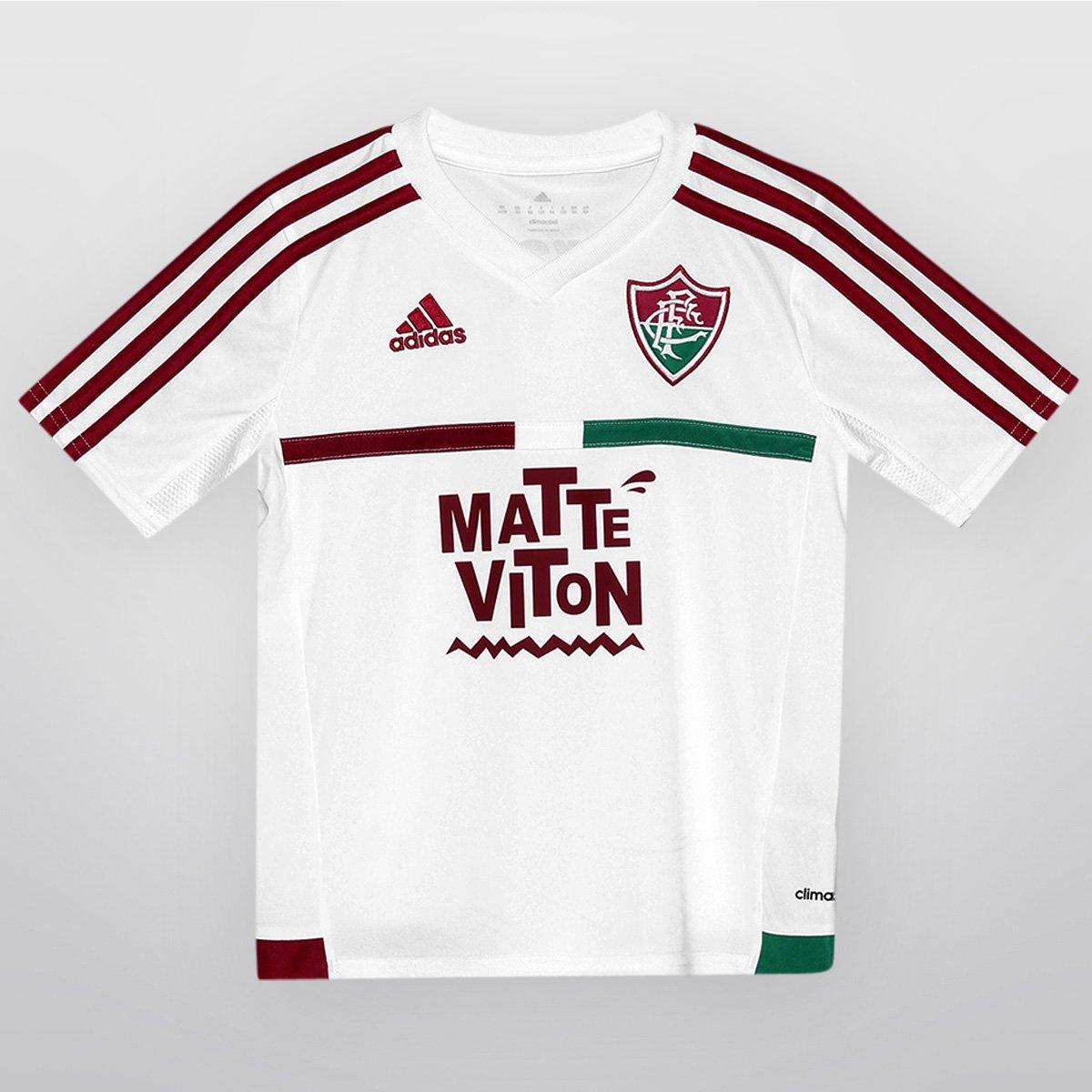 8e5ddf45405d8 Camisa Adidas Fluminense II 2015 s nº Infantil - Compre Agora
