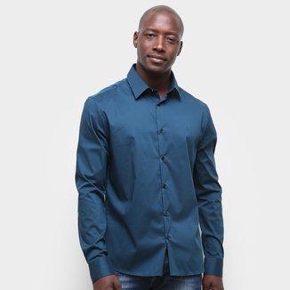 Camisa Calvin Klein Lisa Manga Longa Masculina