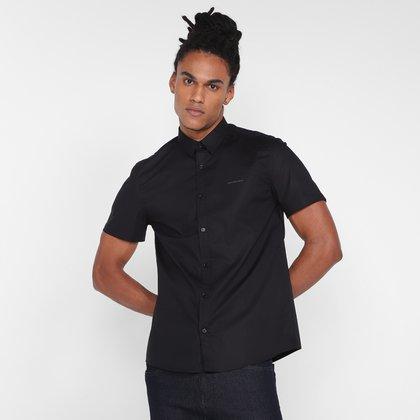 Camisa Calvin Klein Slim Basica Masculina