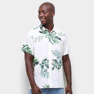 Camisa Colcci Estampada Relax Masculina