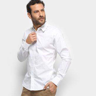 Camisa Colcci Fit Manga Longa Masculina