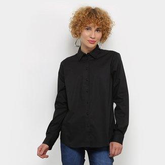 Camisa Colcci Manga Longa Básica Feminina