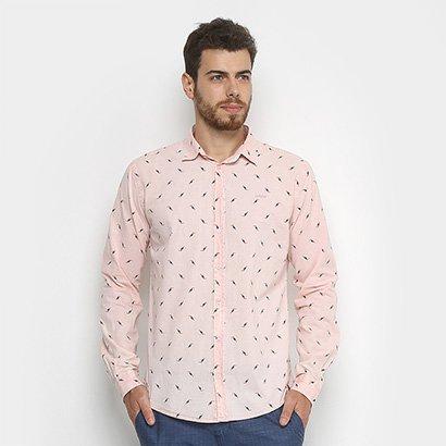 Camisa Colcci Slim Estampada Masculina