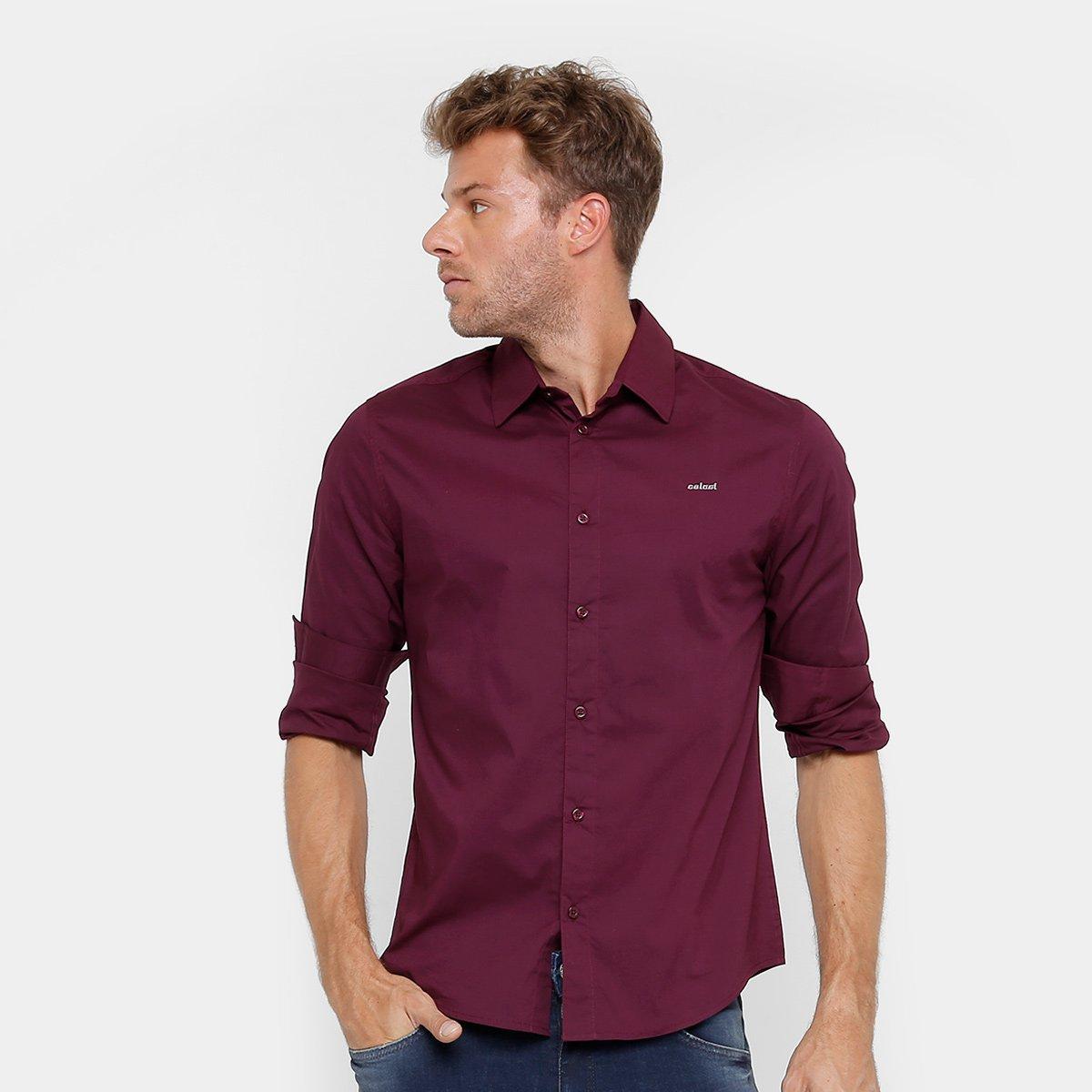 Camisa Colcci Slim Fit Masculina - Compre Agora  14a87c30ed6