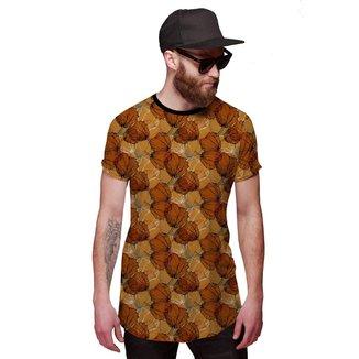 Camisa Di Nuevo Longline Pétalas New Style 2019 Masculina