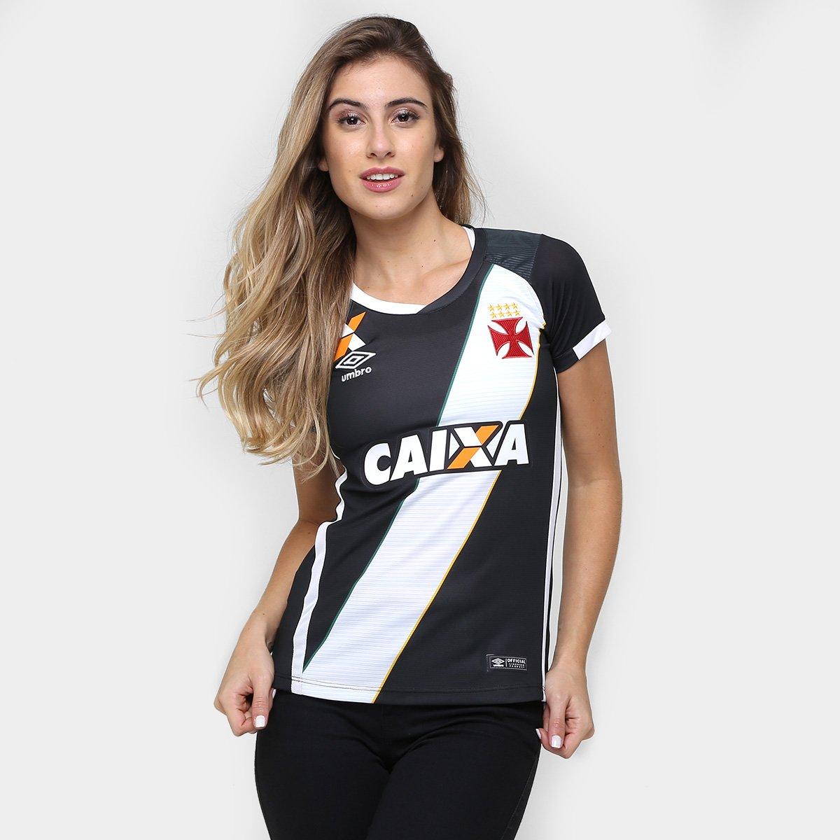 Camisa Feminina Umbro Vasco I 16 17 s nº - Compre Agora  3fc111e5bb3e6