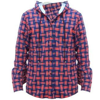 Camisa Flanelada  Mormaii Adventure Xadrez C/ Capuz Masculino