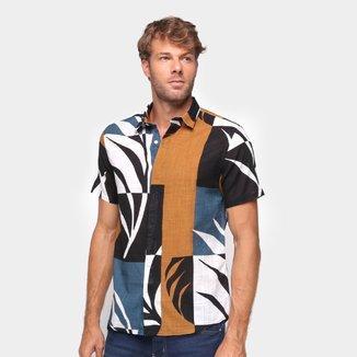 Camisa Foxton Folhagem Masculina