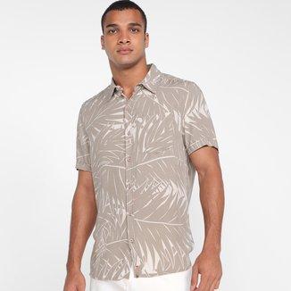 Camisa Hering Comfort Folhagens Masculina
