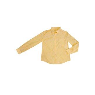 Camisa Hering em Tecido De Algodão Texturizado Folha Feminina
