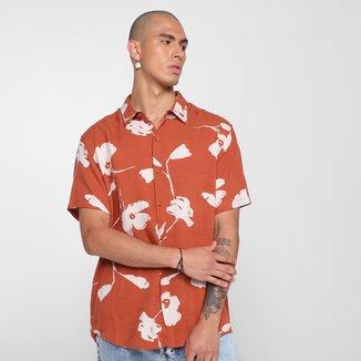 Camisa Hering Floral Masculina