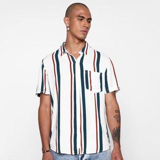 Camisa Hering Listrada Masculina
