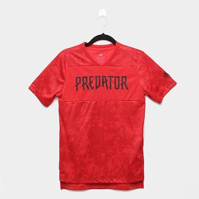 Camisa Infantil Adidas Jb Predator Jsy Masculina