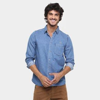 Camisa Jeans Lacoste Live Slim