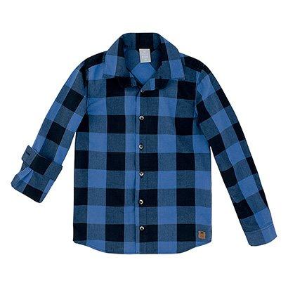 Camisa Juvenil Hering Xadrez Manga Longa Masculina