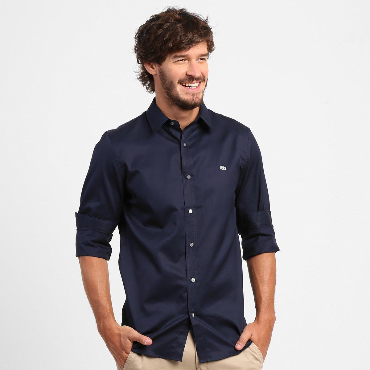 d18dcda005d05 Camisa Lacoste Slim Fit - Compre Agora   Zattini