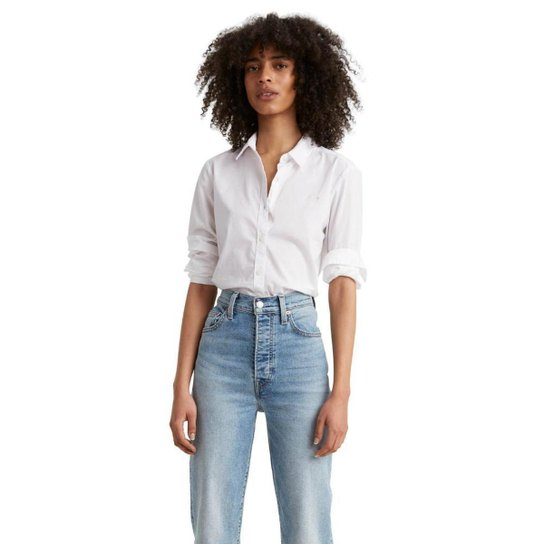 Camisa Levis The Classic BW Shirt - Branco
