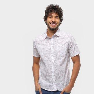 Camisa Majestade Estampada Manga Curta Masculina
